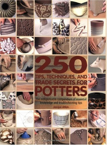 250 Tips, Techniques, and Trade Secrets for Potters The Indispensable Compendium of Essential Knowledge and Troubleshooting Tips  2009 edition cover