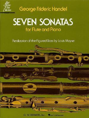 Seven Sonatas for Flute and Piano  N/A edition cover