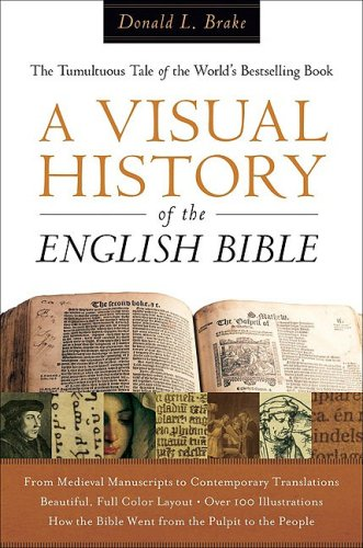Visual History of the English Bible The Tumultuous Tale of the World's Bestselling Book  2008 edition cover