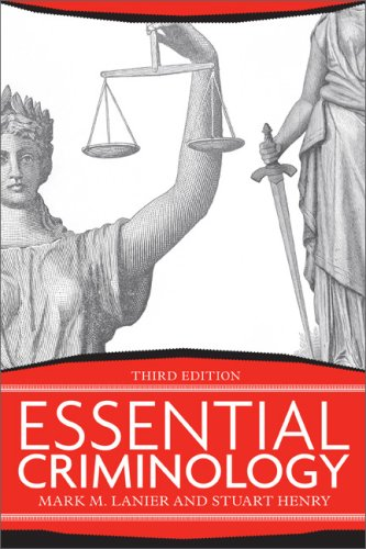 Essential Criminology  3rd 2009 edition cover