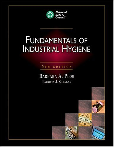 Fundamentals of Industrial Hygiene 5th 2002 edition cover