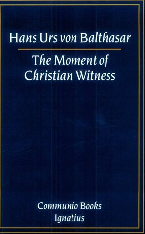 Moment of Christian Witness N/A edition cover
