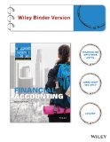 Financial Accounting 9E Binder Ready Version with WileyPlus Card  N/A 9781118855164 Front Cover