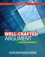 Well-Crafted Argument  5th 2014 edition cover