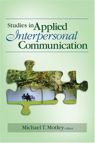 Studies in Applied Interpersonal Communication   2008 edition cover