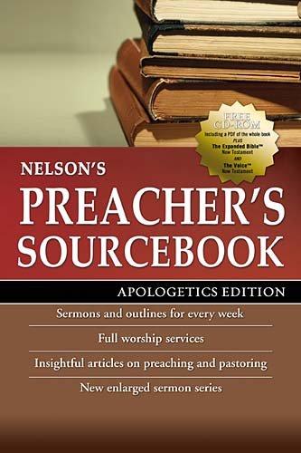 Nelson's Preacher's Sourcebook   2010 edition cover