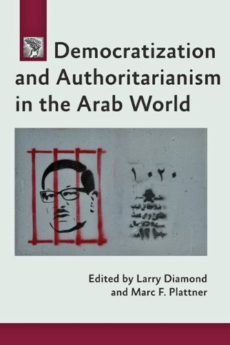 Democratization and Authoritarianism in the Arab World   2014 edition cover