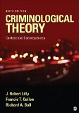Criminological Theory Context and Consequences 6th 2015 edition cover