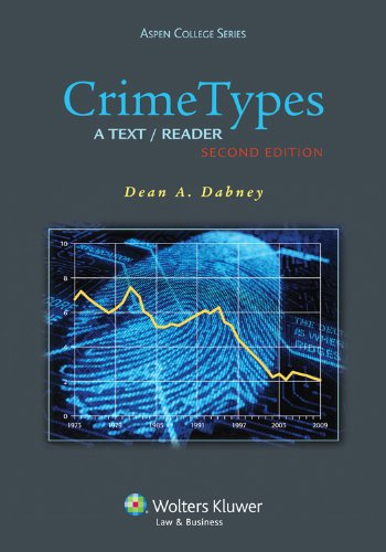 Crime Types A Text/Reader 2nd 2013 (Revised) edition cover