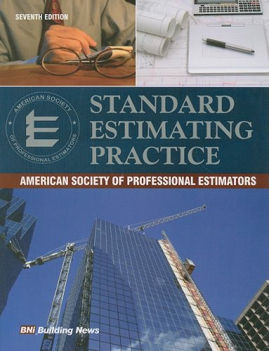 Standard Estimating Practice  2008 edition cover