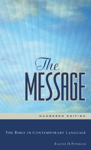 Message The Bible in Contemporary Language N/A edition cover