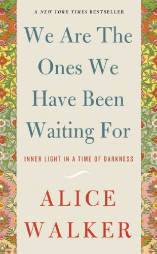 We Are the Ones We Have Been Waiting For Inner Light in a Time of Darkness N/A 9781595582164 Front Cover