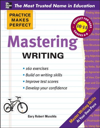 Practice Makes Perfect Mastering Writing   2011 edition cover