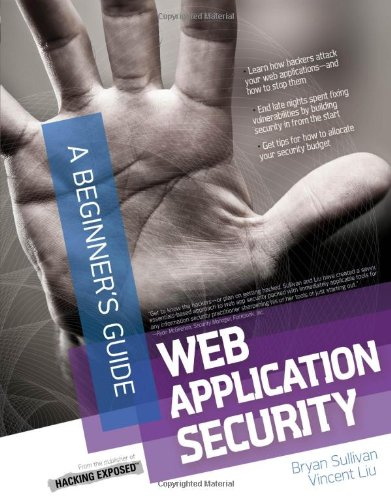 Web Application Security, a Beginner's Guide   2012 9780071776165 Front Cover