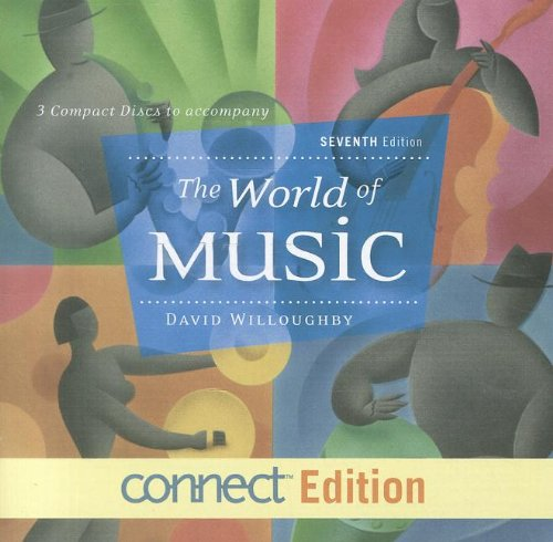 World of Music - Connect Edition: Set of Three Compact Discs 7th 2012 edition cover