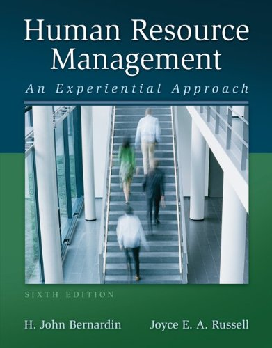 Human Resource Management  6th 2013 edition cover