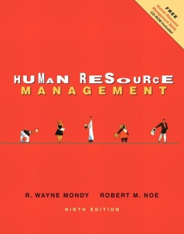 Human Resource Management  9th 2005 edition cover