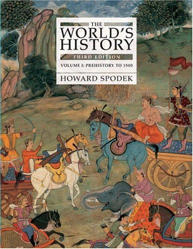 World's History - Prehistory to 1500  3rd 2006 (Revised) edition cover
