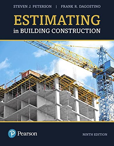 Estimating in Building Construction:   2018 9780134701165 Front Cover