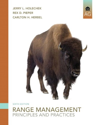 Range Management Principles and Practices 6th 2011 edition cover