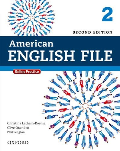 American English File  2nd 9780194776165 Front Cover