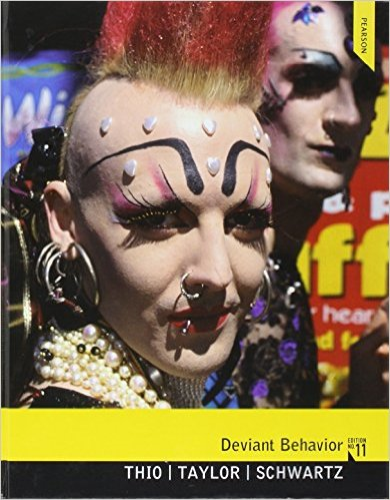 Deviant Behavior  11th 2013 (Revised) 9780205205165 Front Cover