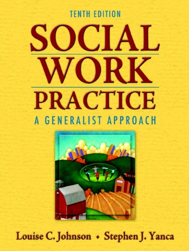 Social Work Practice A Generalist Approach 10th 2010 edition cover