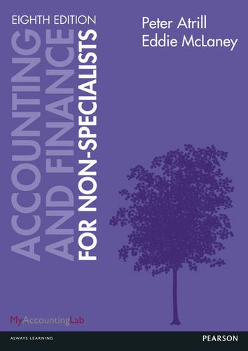 Accounting and Finance for Non-Specialists  8th 2013 (Revised) 9780273778165 Front Cover