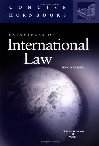 Principles of International Law   2006 edition cover