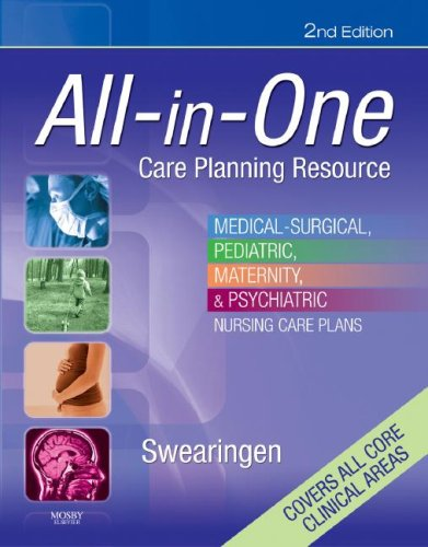 All-in-One Care Planning Resource Medical-Surgical, Pediatric, Maternity, and Psychiatric Nursing Care Plans 2nd 2008 (Revised) edition cover
