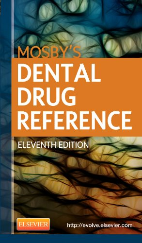 Mosby's Dental Drug Reference:   2013 edition cover