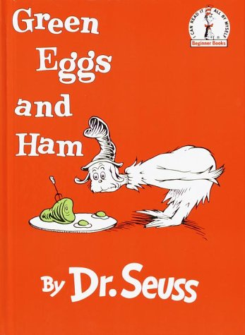 Green Eggs and Ham  Large Type  9780394800165 Front Cover