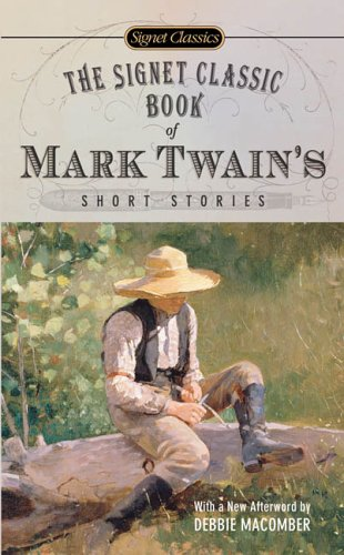 Signet Classic Book of Mark Twain's Short Stories   2006 9780451530165 Front Cover