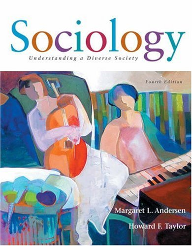 Sociology Understanding a Diverse Society 4th 2006 9780534617165 Front Cover