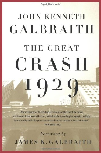 Great Crash 1929   2009 edition cover