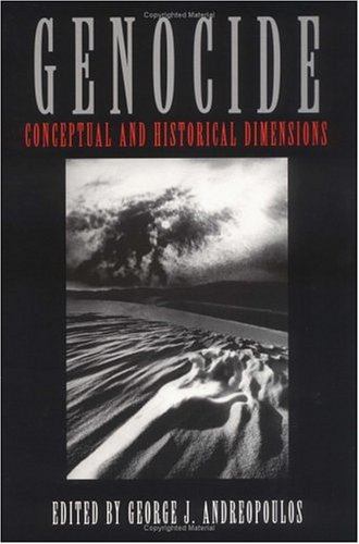 Genocide Conceptual and Historical Dimensions  1994 edition cover