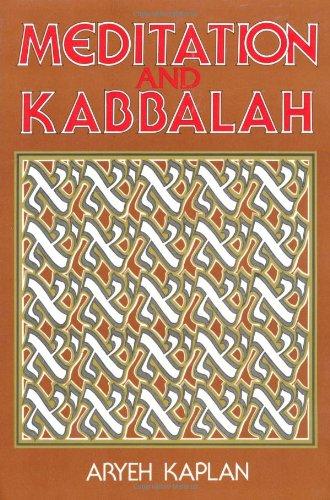 Meditation and Kabbalah  Reprint 9780877286165 Front Cover