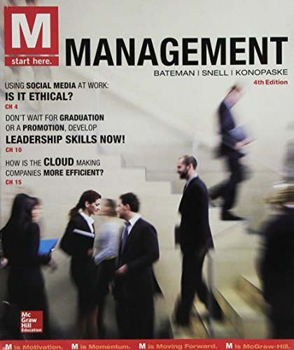 M Management + Connect:   2015 9781259678165 Front Cover