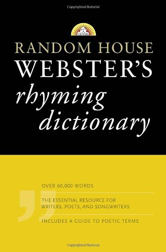 Random House Webster's Rhyming Dictionary  Large Type  9781400007165 Front Cover