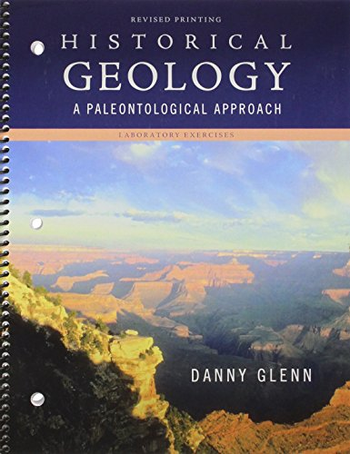 Historical Geology A Paleontological Approach Revised edition cover