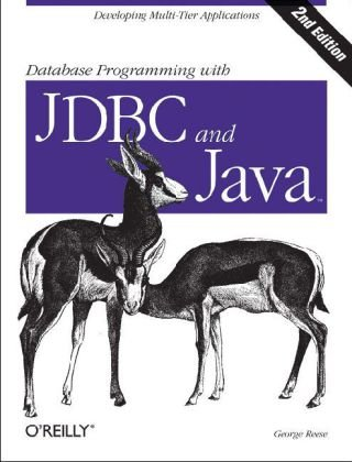 Database Programming with JDBC and Java  2nd 2000 9781565926165 Front Cover