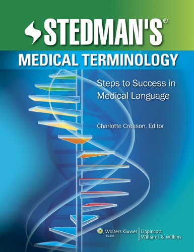 Medical Terminology Steps to Success in Medical Language  2010 edition cover