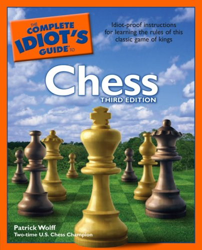 Complete Idiot's Guide to Chess  3rd 2005 edition cover