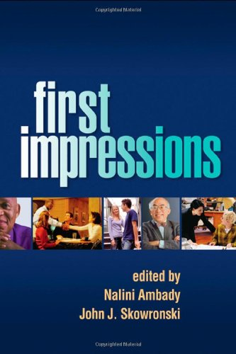 First Impressions   2008 edition cover