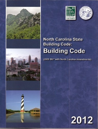 North Carolina State Building Code Building Code 2012 N/A edition cover