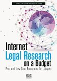 Internet Legal Research on a Budget   2014 edition cover