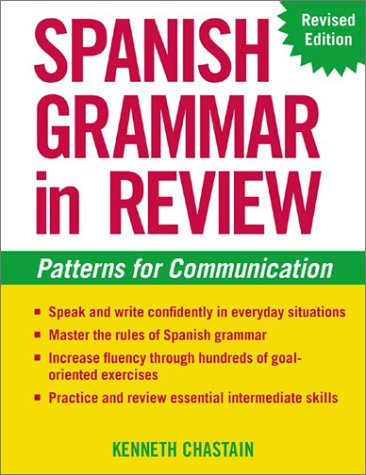 Spanish Grammar in Review  2nd 2003 (Revised) edition cover