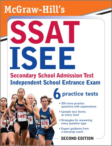 McGraw-Hill's SSAT/ISEE  2nd 2009 9780071609166 Front Cover