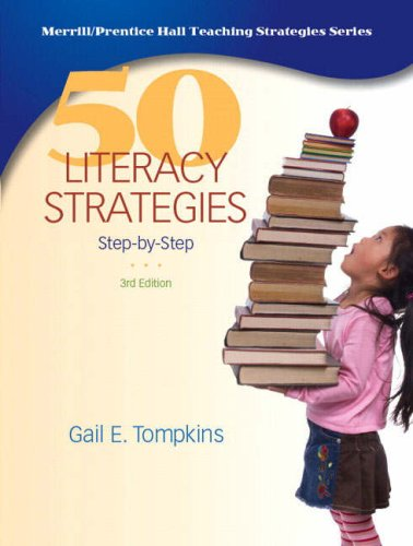 50 Literacy Strategies Step-by-Step 3rd 2009 edition cover