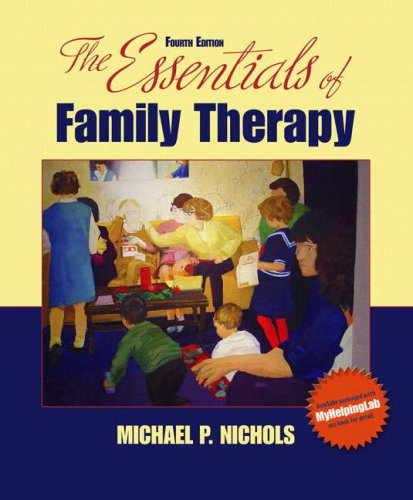 Essentials of Family Therapy  4th 2009 edition cover